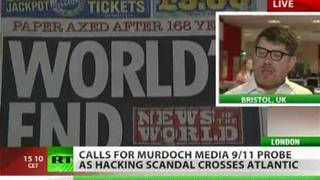 'UK cops bribed by Murdoch empire, too corrupt to probe scandal'