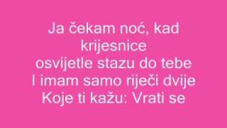 Vesna Pisarović Ja čekam noć Lyrics