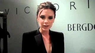 Victoria Beckham - 5 Questions at New York Launch