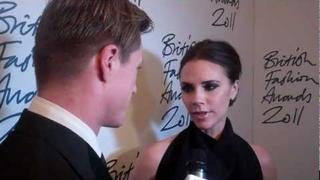 Victoria Beckham Wins Designer Brand at The British Fashion Awards I GRAZIA
