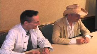 Video interview: Tom Six and Dieter Laser talk about The Human Centipede