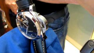 video of Panerai PAM359 - 44mm Luminor Marina 1950 3 Days Automatic w/ new numerals dial