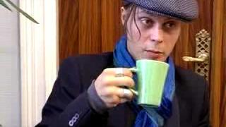 Ville Valo and his famous coffee cup
