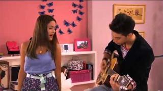 Violetta- Federico e Vilu cantano En mi mundo.