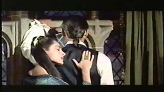 """VIVECA LINDFORS & STEWART GRANGER - scene from """"MOONFLEET"""""""