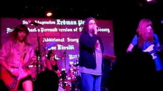 """Vivian Girls play """"Amoeba"""" with Tony Cadena from The Adolescents in LA"""