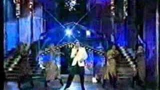 """Vláďa Hron s """"Vladěnou Hronovou"""" impersonating Karel Gott"""