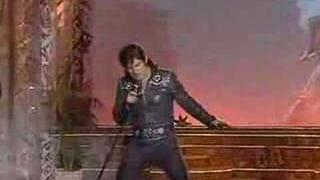 Vladimir Hron imperosnating Elvis Presley