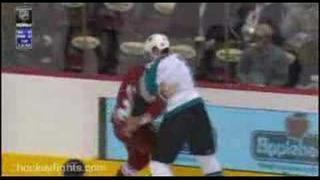 vs Keith Ballard (hockey fight)