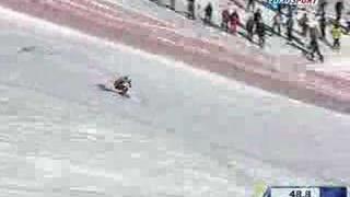 Výhra 2008 Val D'isere Super Kombinace