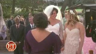 "Wedding Bells Ring on 'Grey's' - BTS footage of ""White Wedding""!!!"