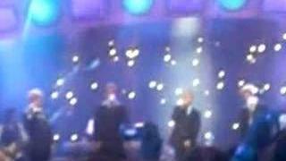 Westlife and Ronan Keating-meteor awards