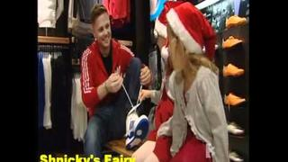 Westlife Nicky Byrne on Xpose (opening Lifestyle store in Dublin ) (7 Dec 2011)