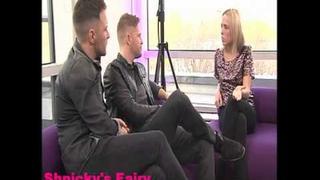 Westlife Shane Filan & Nicky Byrne on OK!TV (28 Nov 2011)