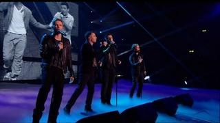 Westlife wow Wembley - The X Factor 2011 Live Final (Full Version)