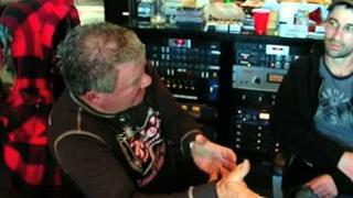William Shatner & Zakk Wylde recording Iron Man