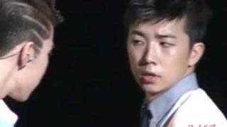 "Wooyoung says ""HIM NAE YAH JI"" to Jaebum"