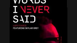 Words I Never Said ft. Skyler Grey by Lupe Fiasco