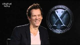 'X-Men' villain Kevin Bacon chats to DS