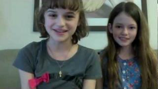 YouGotNailz-Joey King & Mackenzie Foy -- Animal Buddy Manicures!