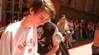 Začátek školního Rocku 2010