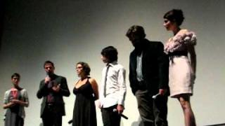 "Zach Galifianakis, Keir Gilchrist, Emma Roberts Q&A at ""It's Kind of a Funny Story"" World Premiere"