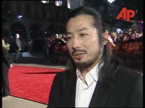 Hiroyuki Sanada at The Last Samurai Premiere