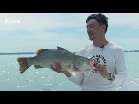 InStyle China - Behind the scenes with Chang Chen in Darwin