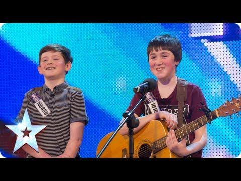 "Jack and Cormac sing ""Little Talks"""