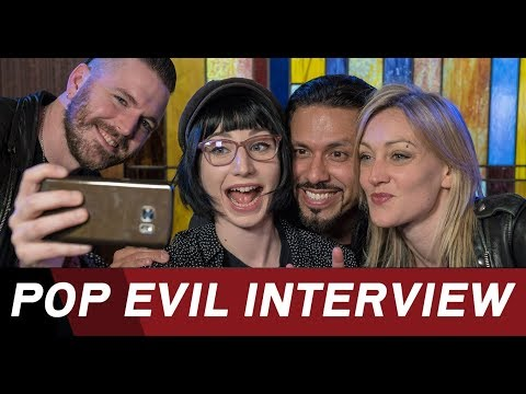 "Pop Evil on their new album ""POP EVIL"" - ROCK ANTENNE Interview"