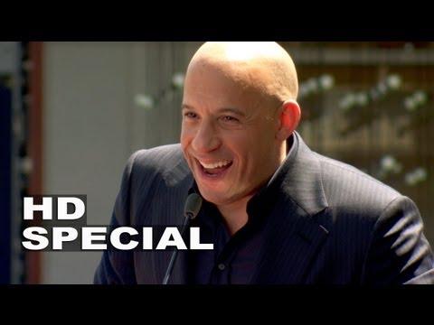 Vin Diesel: projev u příležitosti umístění hvězdy na Hollywoodském chodníku slávy